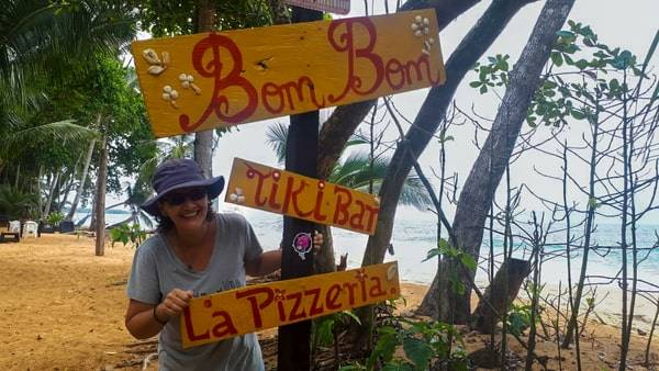 A birthday in Bocas spent at Bom Bom tiki bar in Bluff