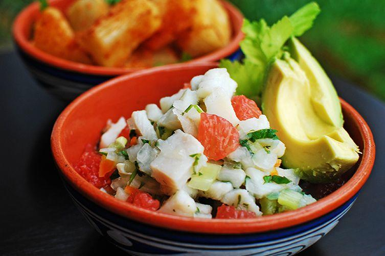Food in Panama: Panamanian Ceviche