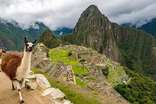 Hispanic America: Machu Picchu in Peru